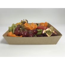 No4 Brown Board Open Tray - Party Supplies Emporium