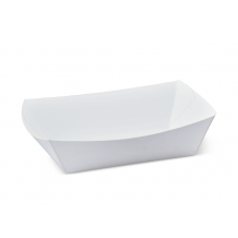No 2 White Eco Food Trays – Party Supplies Emporium