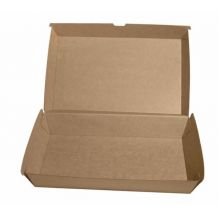 Brown Board XLarge Snack Box - Party Supplies Emporium