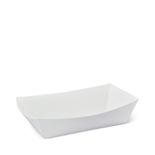 No 4 White Eco Food Trays – Party Supplies Emporium