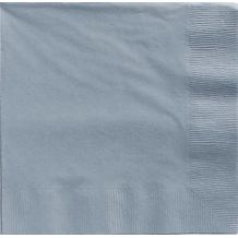 Silver Dinner Napkins – Party Supplies Emporium