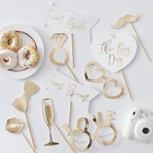 Wedding Photo Booth Props - Party Supplies Emporium