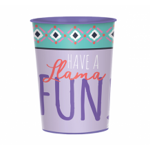 Llama Fun Favor Cup - Party Supplies Emporium