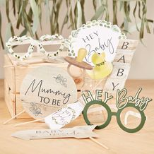 Botanical Baby Botanical Baby Shower Photo Booth Props - Party Supplies Emporium
