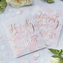 Happily Ever After Tissue Confetti Envelope