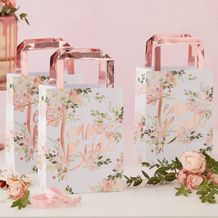 Floral Hen Party Team Bride Party Bags - Party Supplies Emporium