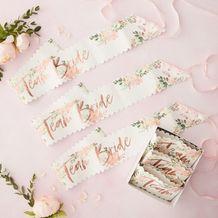 Floral Hen Party Team Bride Sashes - Party Supplies Emporium
