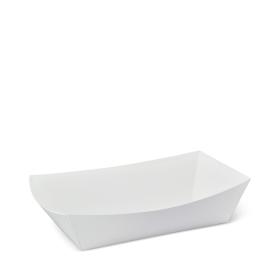 No 4 White Eco Food Trays – Party Supplies Emporium